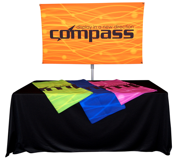 Banner Stands | Compass Lightweight Banner Stands