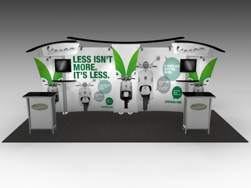 Custom Modular Hybrid Displays | Segue Displays