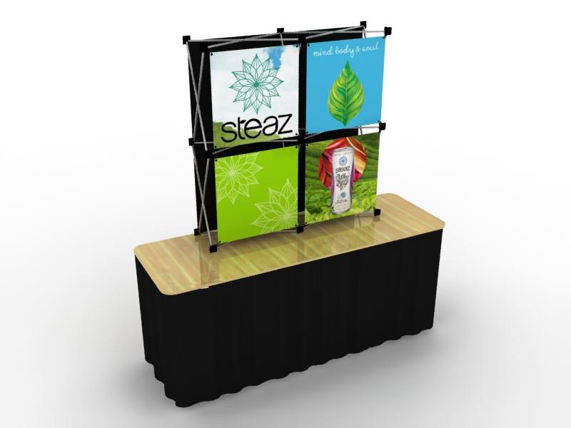 Quadro FGS | Table Top Display | Trade Show Displays by ShopForExhibits