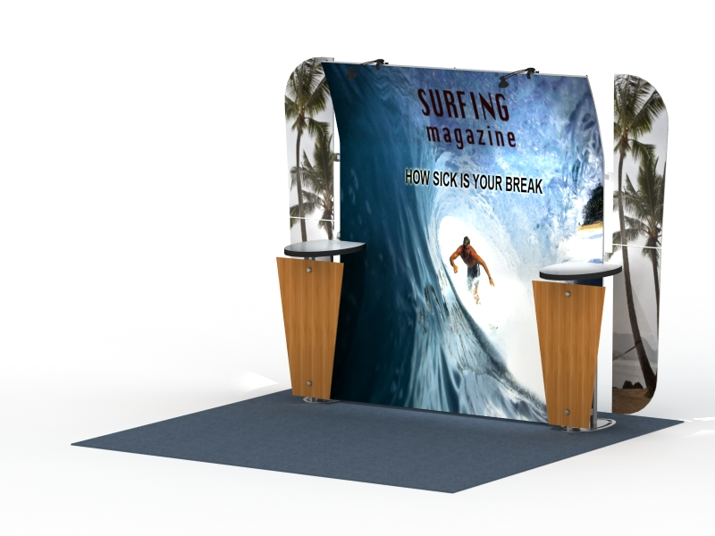 10 & 20 Ft Magellan Displays | Trade Show Displays by ShopForExhibits