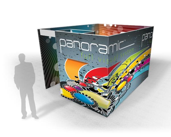 Panoramic Rooms   Trade Show Displays