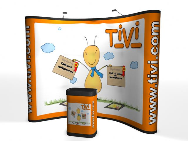Premium Pop Up Displays | Trade Show Displays by ShopForExhibits