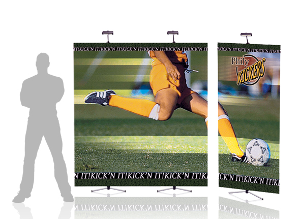 Relay Banner Stands | Tripod Banner Stands