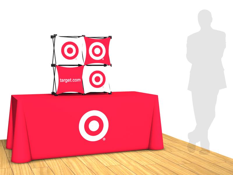 Table Top Displays | 2x2 Sales Mate Pop Up