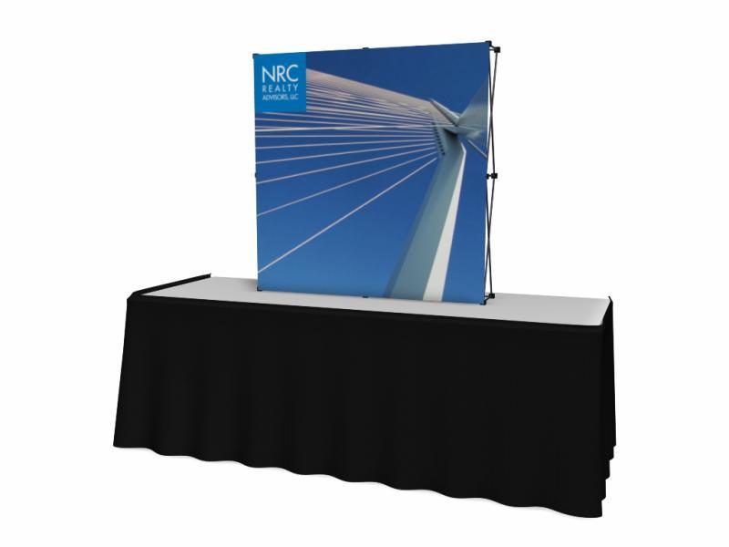 VBurst Table Top Displays | Trade Show Displays by ShopForExhibits