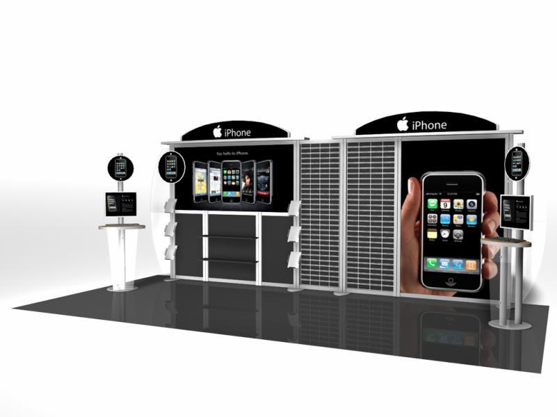 20 Ft Modular Display Rentals | Display Rentals