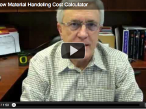 Trade Show Material Handeling Cost Calculator