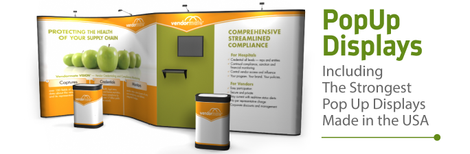 Pop Up Displays | Trade Show Displays by ShopForExhibits