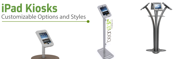 iPad Kiosks | Trade Show Displays by ShopForExhibits