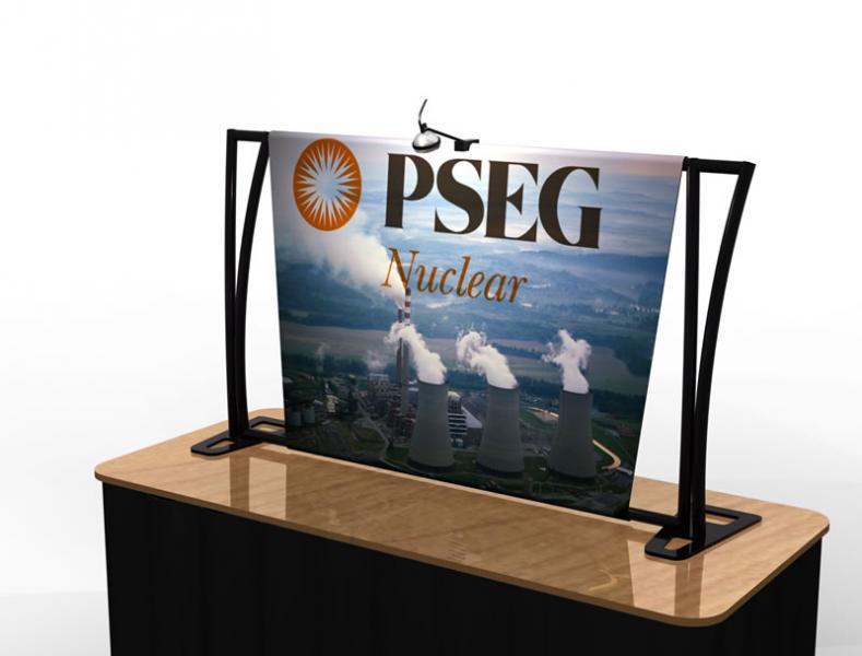 Exhibition Display Table : Tf aero tension fabric table top display