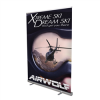 5' Jumbo Wide Retractor Kit | Jumbo Wide Retractable Banner Stand