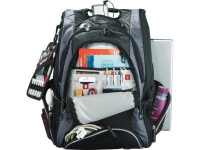 Promotional Giveaway Bags | Elleven Drive Checkpoint Friendly Compu-Backpack