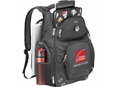 Promotional Giveaway Bags | Elleven Amped Checkpoint-Friendly Compu-Backpac