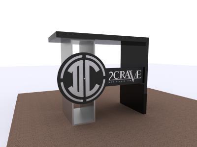 MOD-1349 Custom Counter | Counters Pedestals Kiosks & Workstations
