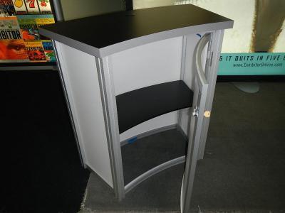 Mod 1221 Counter w/Locking Storage