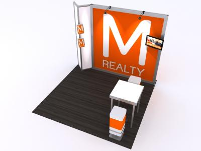 Custom Modular Hybrid Displays | VK-1318 - 10 Ft Visionary Designs