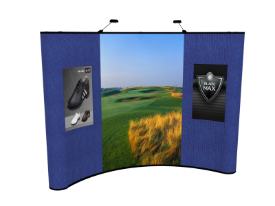 10 Foot Graphic Package 3 | Trade Show Display Graphics