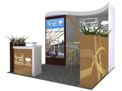 Display Rentals -Oasis 10 Ft Custom Booth
