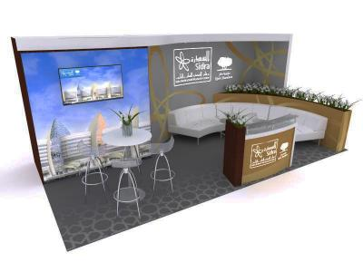 Display Rentals - 20' Oasis Custom Exhibit