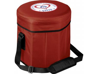 Promotional Giveaway Bags | Game Day Cooler Seat Red