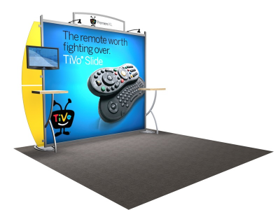 VK-1207 Sacagawea Tension Fabric Displays   Trade Show Displays