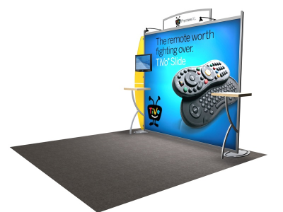 VK-1207 Sacagawea Tension Fabric Displays | Trade Show Displays