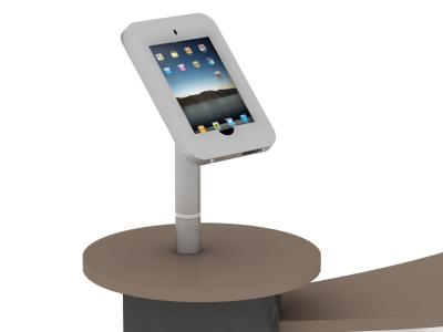 MOD-1329 Rotating iPad | Counters, Pedestals, Kiosks, & Workstations
