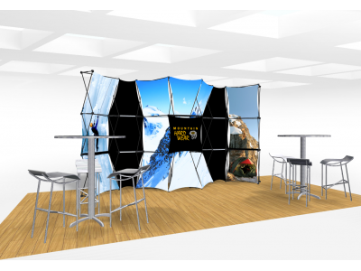 Xpressions Connex 10x20 Pop Up Displays Kit D | Trade Show Displays