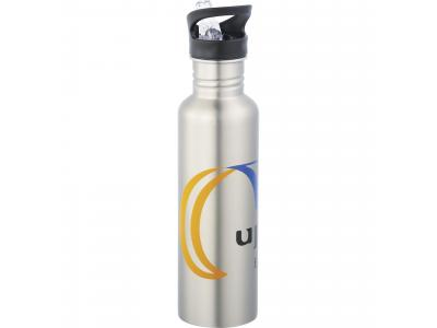 Promotional Giveaway Drinkware | Surf Stainless Bottle 20oz Silver