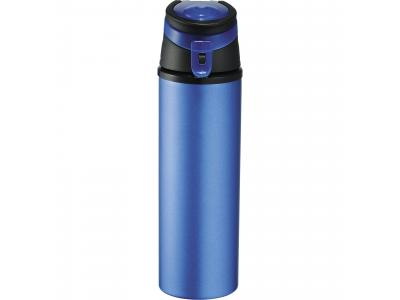 Promotional Giveaway Drinkware | Sheen Aluminum Bottle 20oz Blue