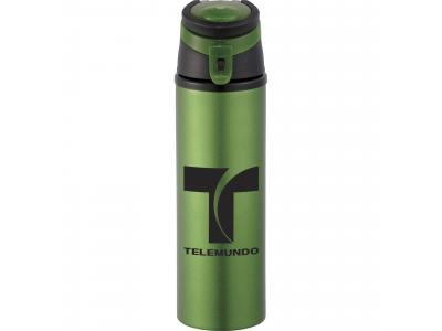 Promotional Giveaway Drinkware | Sheen Aluminum Bottle 20oz Green