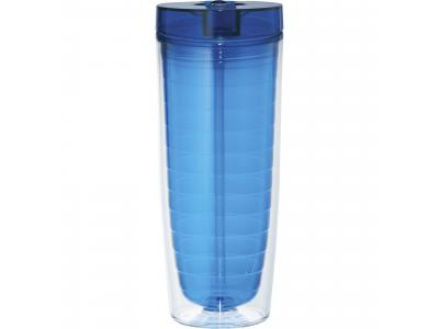 Promotional Giveaway Drinkware | Hot & Cold Flip N Sip Vortex Tumbler 20oz
