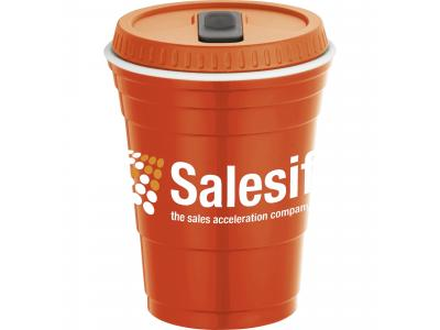 Promotional Giveaway Drinkware | Game Day Cup With Lid 16oz