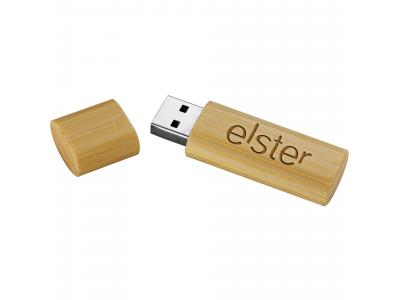 Promotional Giveaway Technology | Bamboo USB Flash Drive 4GB