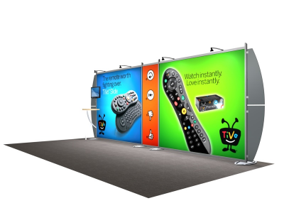 VK-2102 Sacagawea Tension Fabric Displays | Trade Show Displays
