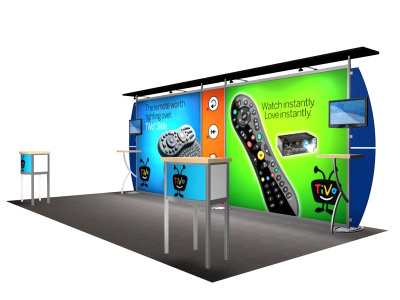 VK-2105 Sacagawea Tension Fabric Displays | Trade Show Displays