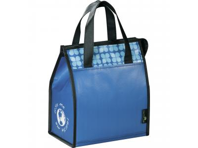 Promotional Giveaway Bags | Laminated Non-Woven Lunch Bag Royal