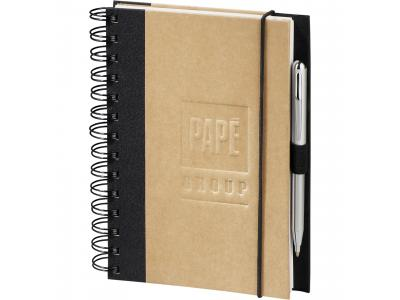 Promotional Giveaway Office | Evolution Recycled JournalBook Black
