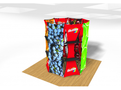 Xpressions Connex Octagon Pop Up Displays | Trade Show Displays