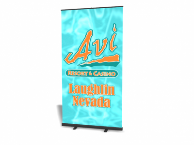 "47.5"" Pronto Banner Stand Replacement Graphic 