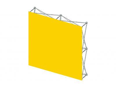 Pop Up Trade Show Display | Self Locking VBurst Replacement Graphic 2x2 Flat