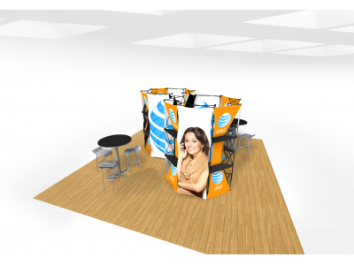 Xpressions Connex 20x20 Pop Up Displays Kit A | Trade Show Displays