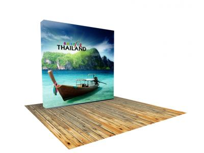 Pop up Displays | VBurst 8ft Kit Flat BACKLIT 10ft x 10ft