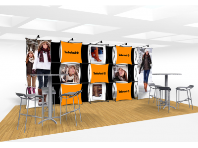 Xpressions Connex 10x20 Pop Up Displays Kit A | Trade Show Displays