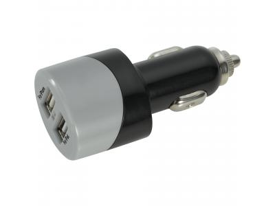 Promotional Giveaway Technology| Dual USB Car Charger