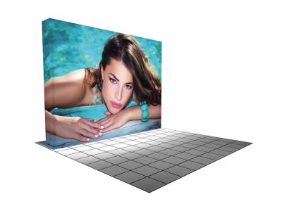 Pop up Displays | VBurst 10ft Kit Flat BACKLIT On