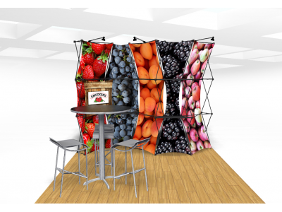 Xpressions Connex 10x10 Pop Up Displays Kit C | Trade Show Displays