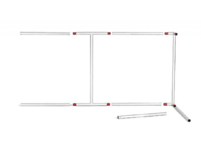 TF-1004 Tiangle Hanging Sign | Overhead Tension Fabric Structure