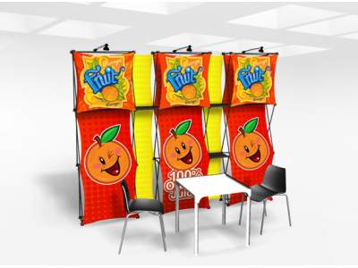 Xpressions Connex 10x10 Pop Up Displays Kit A | Trade Show Displays