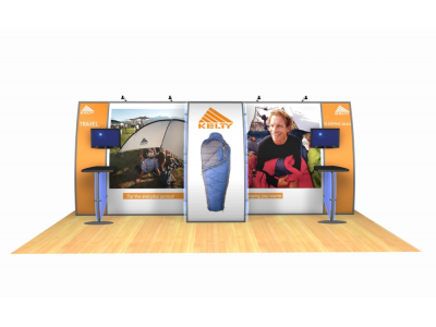 Portable Modular Hybrid Display | VK-2045 20 Ft. Magellan